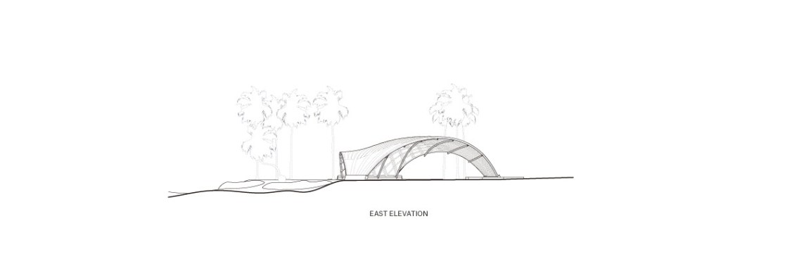 Haduwa Arts & Culture Institute Stage Elevation / [a]FA _ [applied] Foreign Affairs