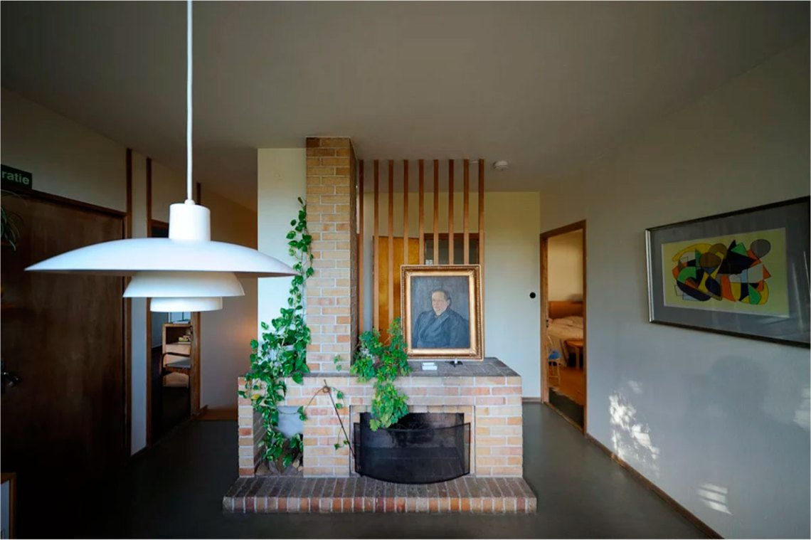 Chimeey / Fire Place of the Aalto villa