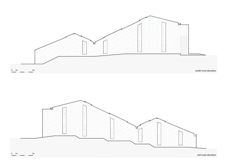 Chetian Cultural Center Section Plan