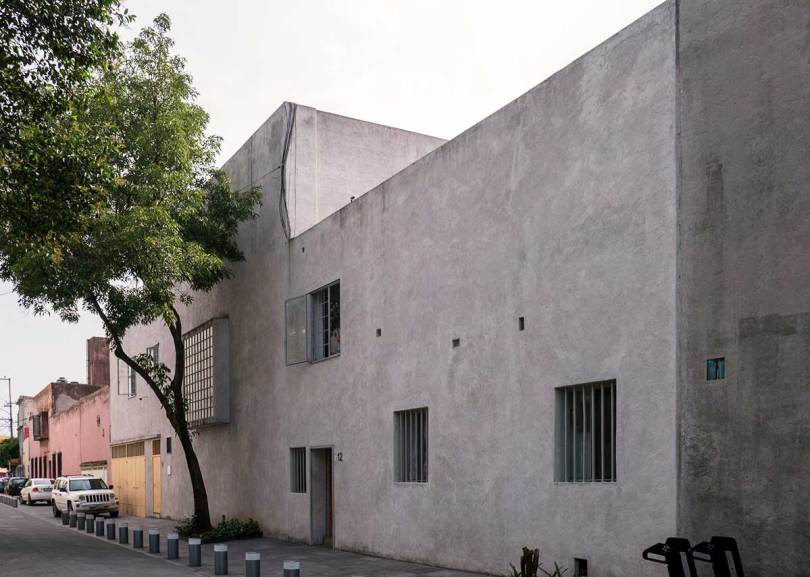Exterior of Luis Barragan House