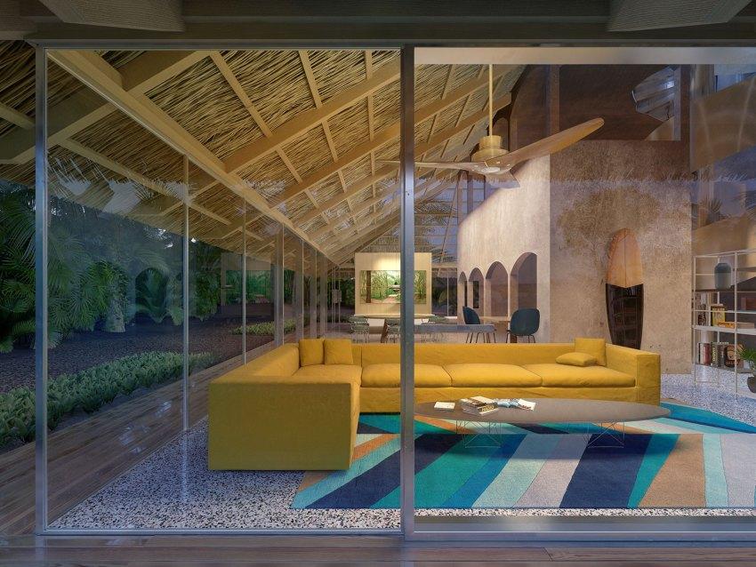 Interior View | Casa Raposa in Ubatuba / FORM Bureau