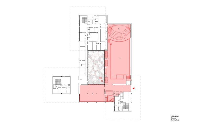 Floor Plan of CAMP