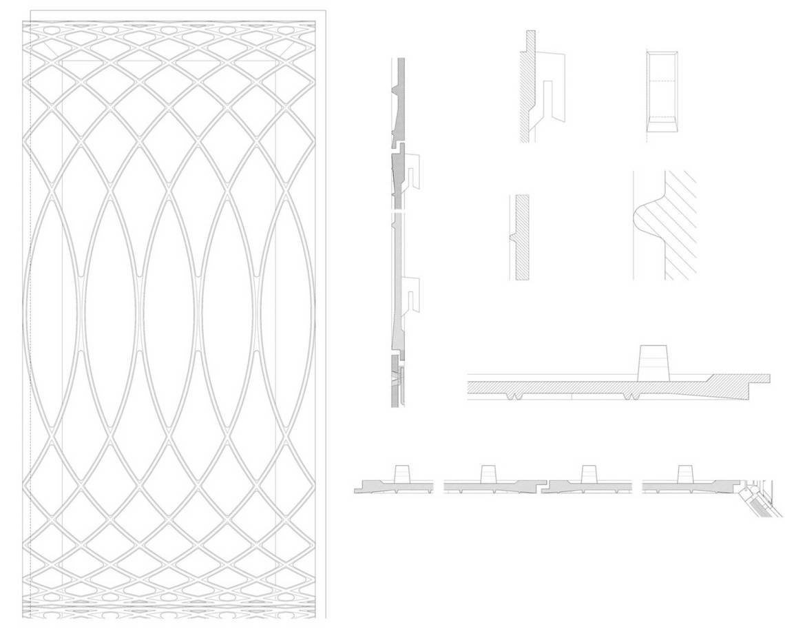 Detail Plans Paul Smith Retail Shop in London / 6a architects