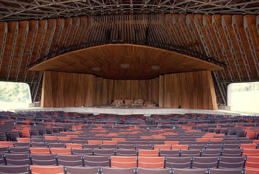 Stage - Blossom Music Center in Cuyahoga Valley / Peter van Dijk