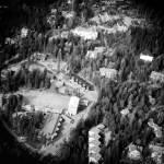 Aerial View Skadalen School Accreditation Center Children Hearing Impairment Sverre Fehn