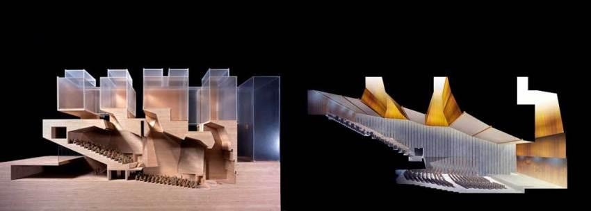Model of the Universita Luigi Bocconi / Grafton Architects