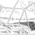 Sketch - Norman Foster and Richard Rogers
