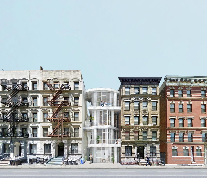 New Apartments Topped On On The L A: Table Top Apartments: New York Affordable Housing / Kwong