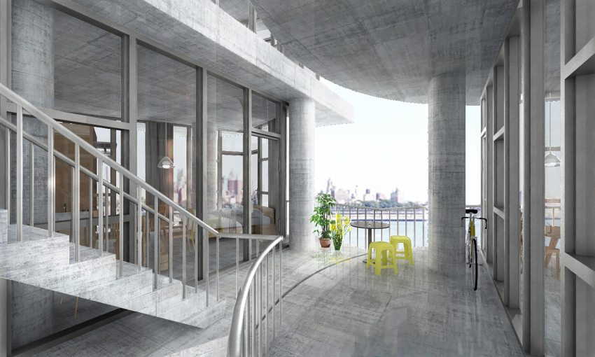 Interior - Table Top Apartments: New York Affordable Housing / Kwong Von Glinow