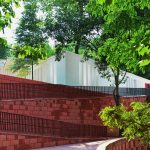 Materiality - Chishui Cemetery Memorial Hall / West-line Studio