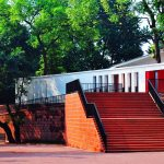 Entrance - Chishui Cemetery Memorial Hall / West-line Studio