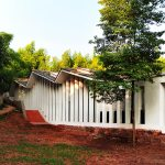 Chishui Cemetery Memorial Hall / West-line Studio