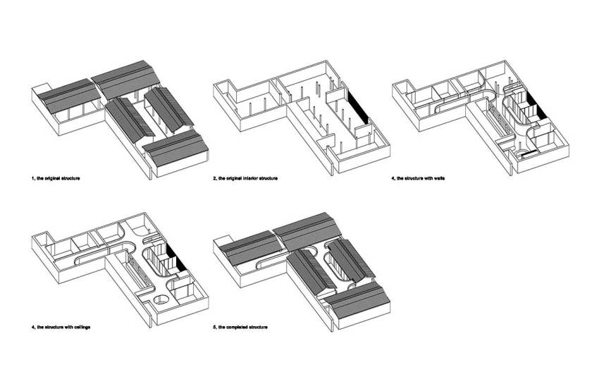 Floor Plan - Tea House Hutong / Arch Studio