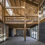 Foyer - Party and Public Service Center of Yuanheguan Village / LUO Studio