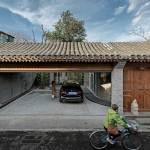 Facade - Qishe Courtyard in Beijing / ARCHSTUDIO