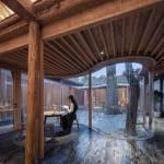 Back courtyard tea room - Qishe Courtyard in Beijing / ARCHSTUDIO
