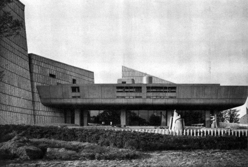 Exterior - Tokyo Metropolitan Festival Hall (Tokyo Bunka Kaika / Kunio Maekawa