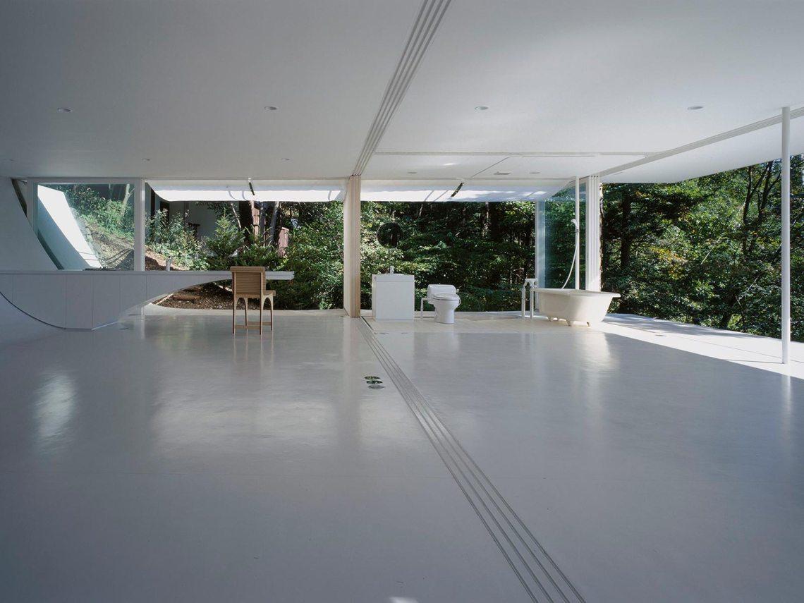 Interior Space - Wall-less House in Nagano / Shigeru Ban