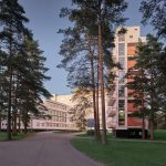 Side View - Paimio Sanatorium / Alvar Aalto