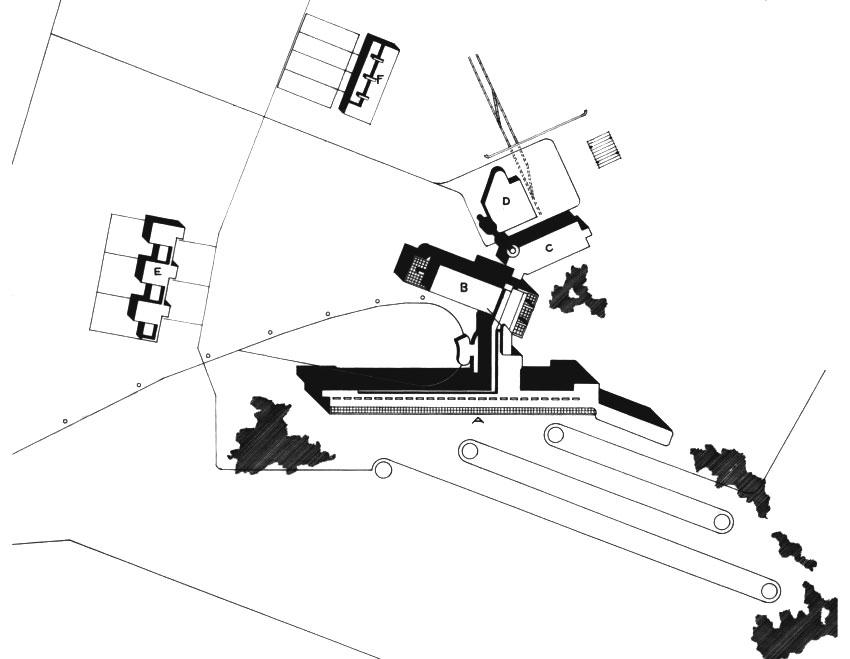 Site Plan - Paimio Sanatorium / Alvar Aalto