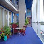 Terrace / Silodam Housing Block in Amsterdam / MVRDV