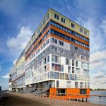 Exterior View - Silodam Housing Block in Amsterdam / MVRDV