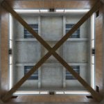 Ceiling - Phillips Exeter Academy Library / Louis Kahn