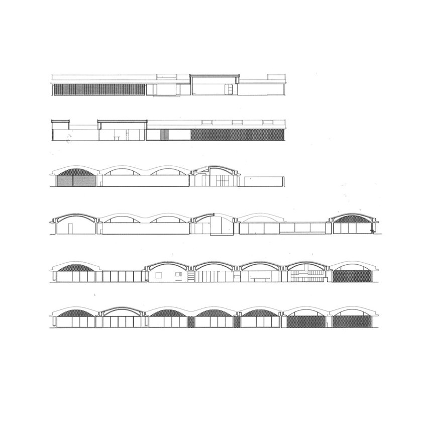 Elevation and Sections