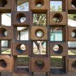 Facade detail - La Ricarda, Gomis House / Antoni Bonet i Castellana