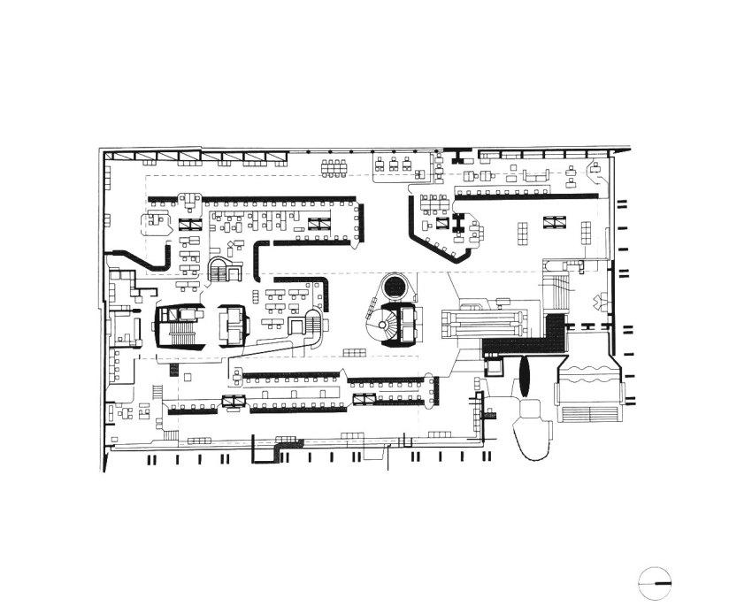 Floor Plan - Bank of London in Buenos Aires / Clorindo Testa & SEPRA Studio