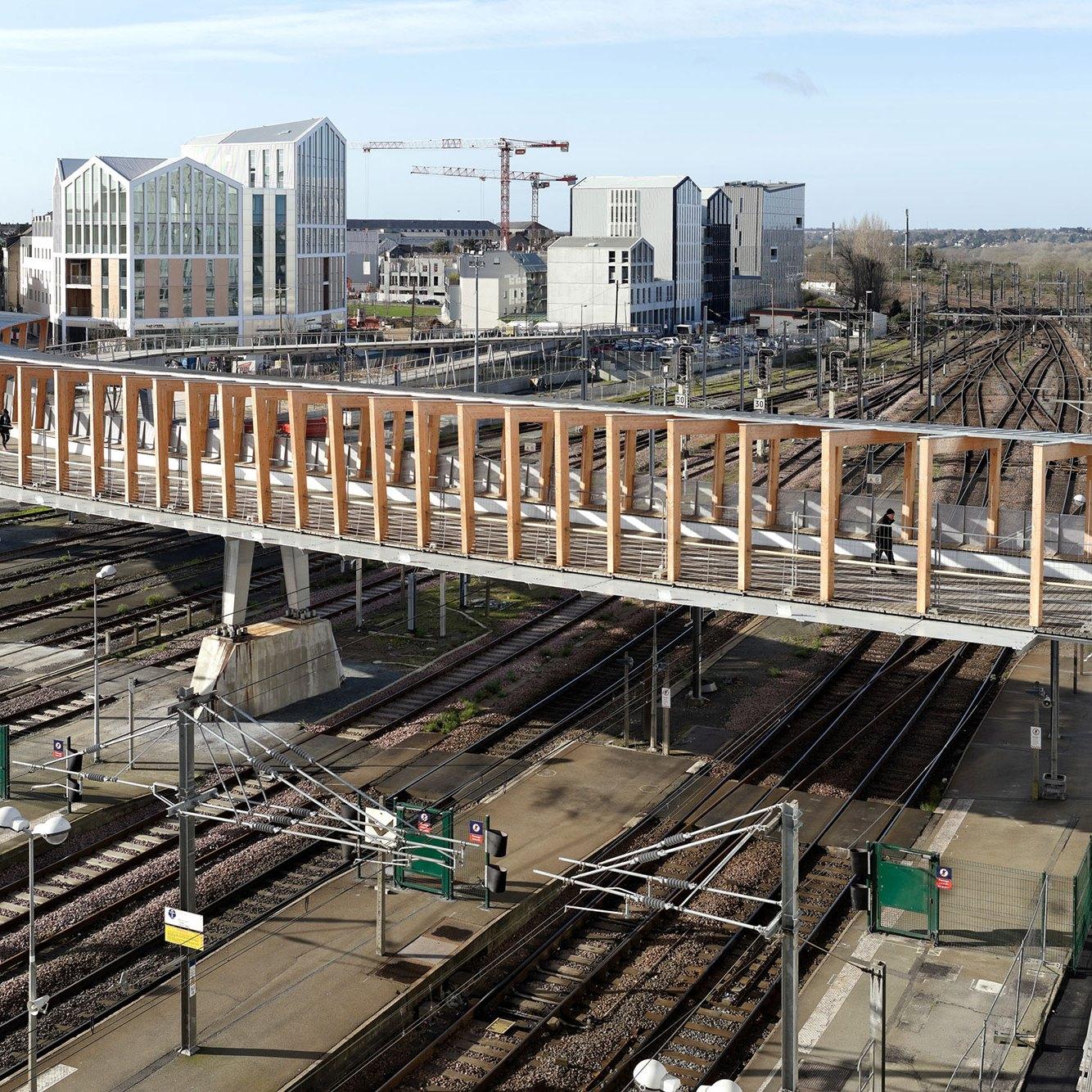 Overview Aerial Bridge View