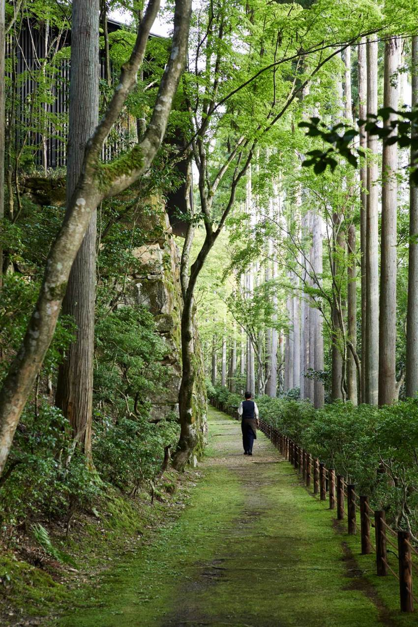 Garden path - Aman Kyoto Resort / Kerry Hill Architects