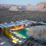 Aerial shot - Amangiri Resort / Marwan Al-Sayed, Wendell Burnette and Rick Joy