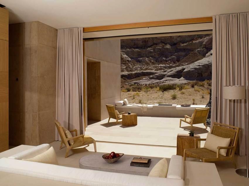 Suite Desert Lounge - Amangiri Resort / Marwan Al-Sayed, Wendell Burnette and Rick Joy