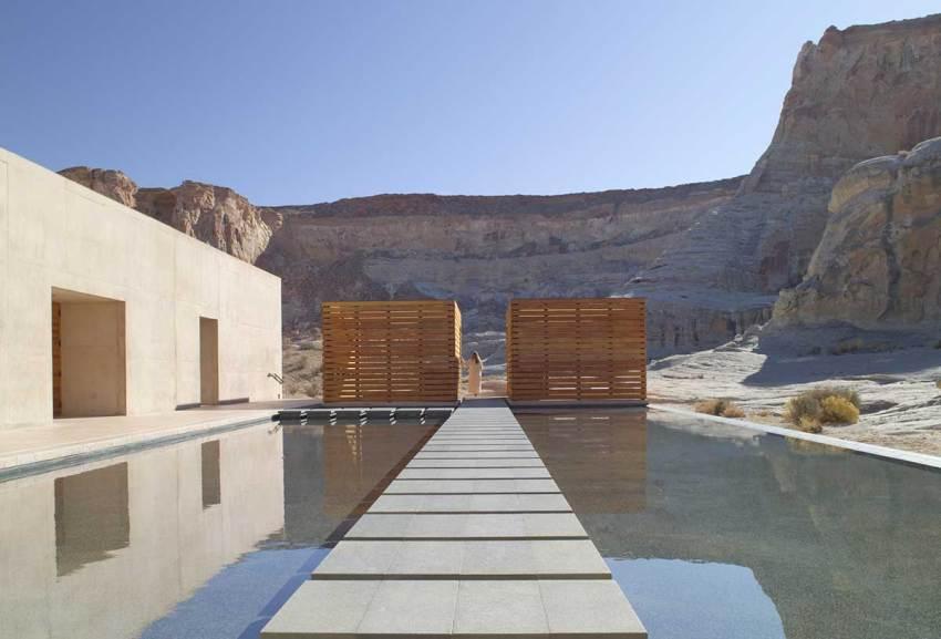 Spa Reflection Pool - Amangiri Resort / Marwan Al-Sayed, Wendell Burnette and Rick Joy