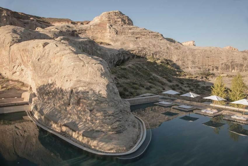 Swimming Pool - Amangiri Resort / Marwan Al-Sayed, Wendell Burnette and Rick Joy