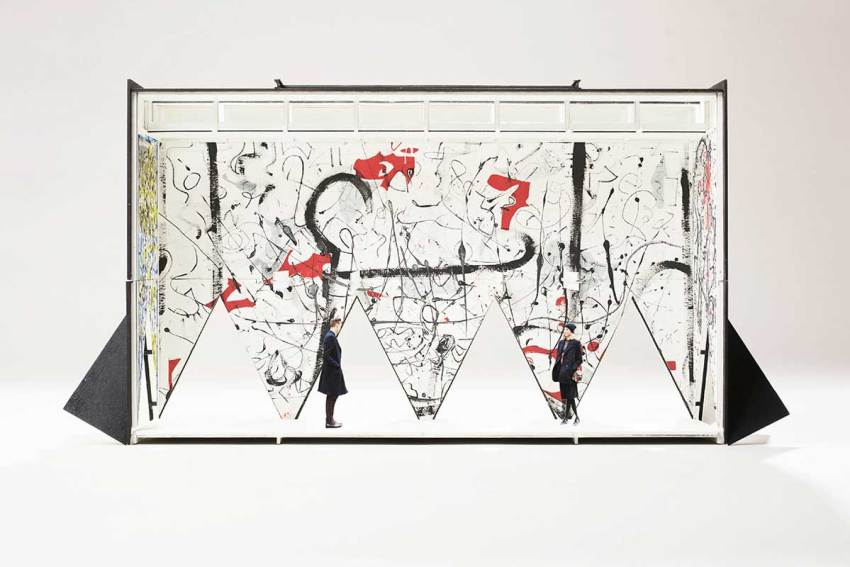 Interior Space - The Wolfhorse: Helsinki Mobile Museum of Modern Art / Vardehaugen