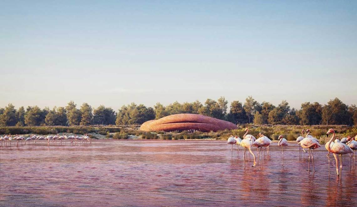 Abu Dhabi Flamingo Visitor Center / petrjanda/brainwork