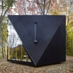 Black tiny home