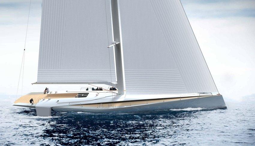 Hera Sailing Yacht byNicola Mondini