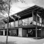 Side Facade - Kenzo Tange's House / Villa Seijo