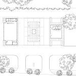 Site Plan - Mies van der Rohe Gas Station Conversion on Nuns Island / FABG Architects