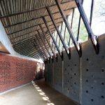 Roof Details - Jetavan - Spiritual Development Center / Sameep Padora and Associates