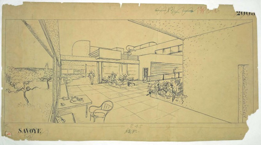How to Plan and Build your Dream House?  - Sketch by Le Corbusier