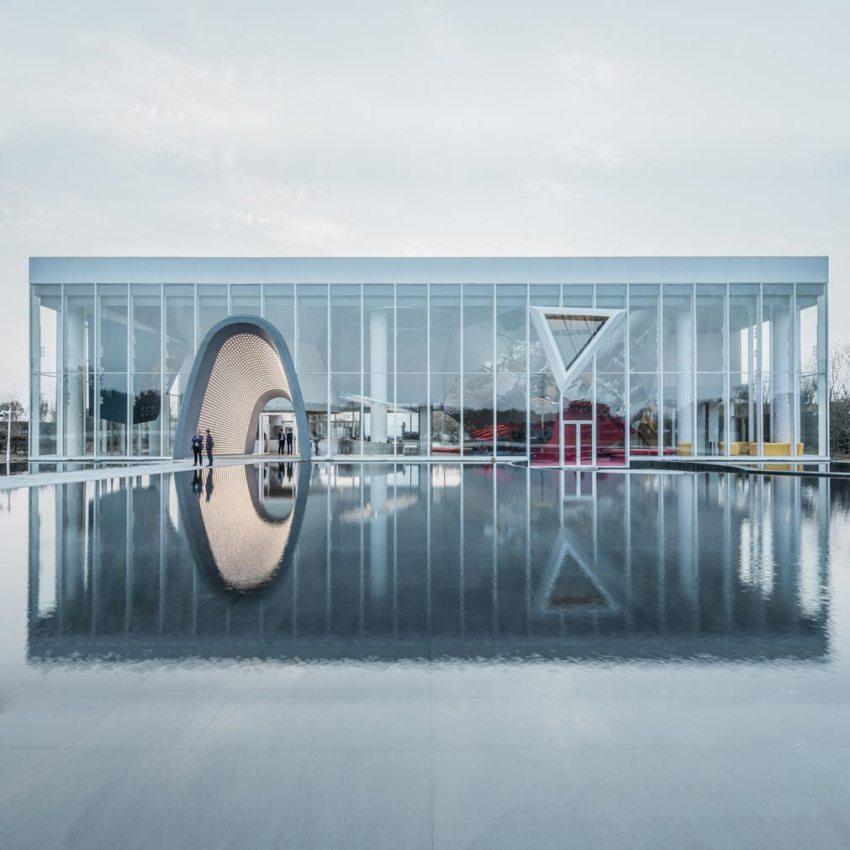 Courtyard NO.1 Sales Office byQun Wen