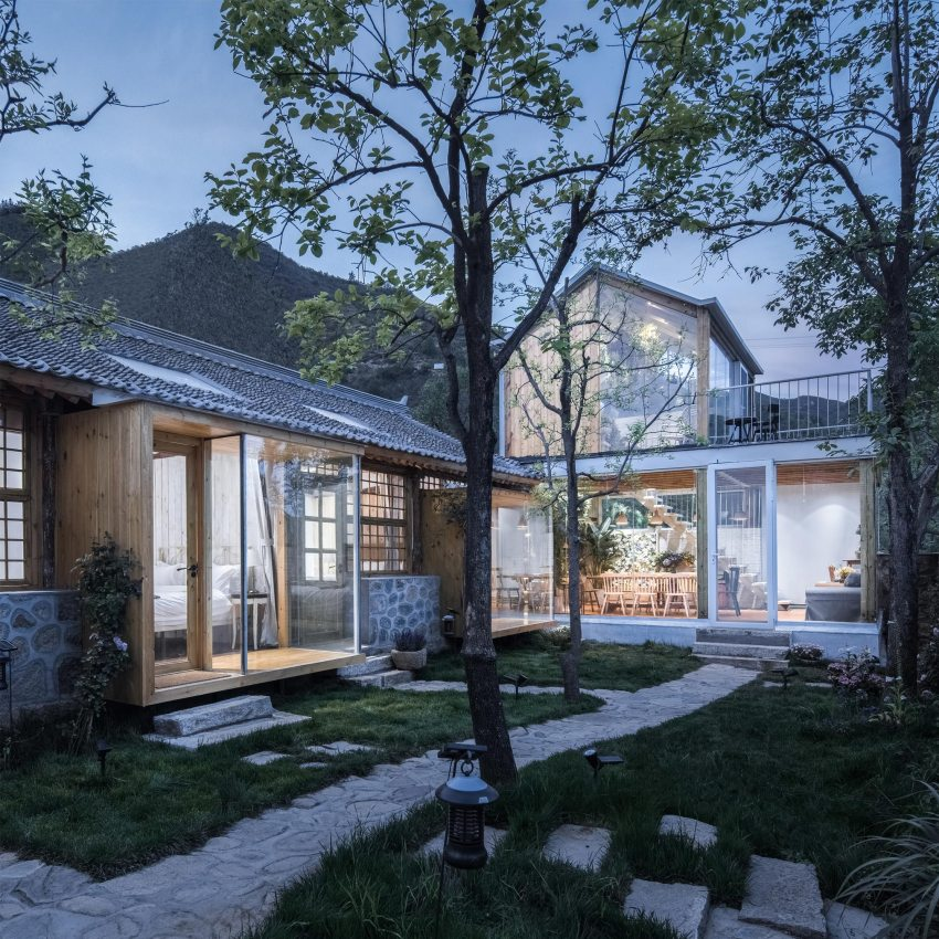 The Peach Garden Hostel Homestay byChao Zhou - Architecture, Building & Structure Design Round-Up / A' Design Award & Competition 2020 - 2021