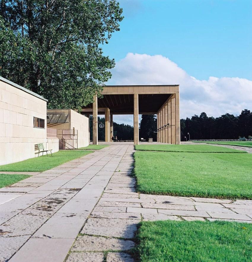 Woodland Crematorium, Asplund, 1935-40