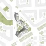 Site Plan - Residenze Calo Erba in Milan / Eisenman Architects + Degli Esposti Architetti + AZstudio
