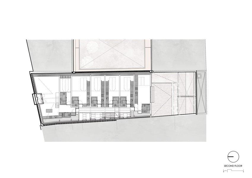 Second-Floor-Plan-Edifício Fábrica das Devesas / Anarchlab, Architecture Laboratory