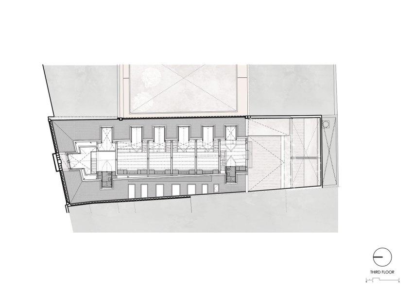 Third-Floor-Plan-Edifício Fábrica das Devesas / Anarchlab, Architecture Laboratory